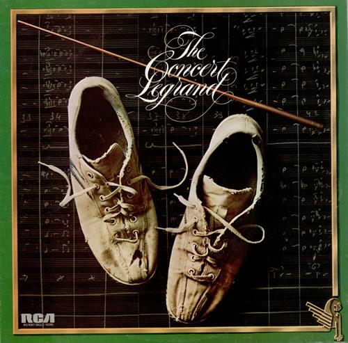 Michel Legrand The Concert Legrand vinyl LP album (LP record) UK MLGLPTH475224