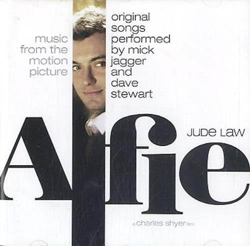 Mick Jagger Alfie CD album (CDLP) Australian MKJCDAL607225
