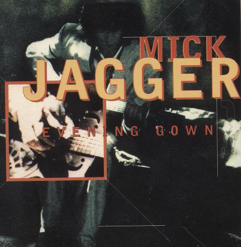 """Mick Jagger Evening Gown - Wallet - Sealed CD single (CD5 / 5"""") French MKJC5EV745718"""