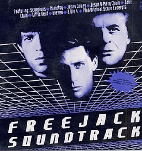 Mick Jagger Freejack Soundtrack vinyl LP album (LP record) Colombian MKJLPFR248585