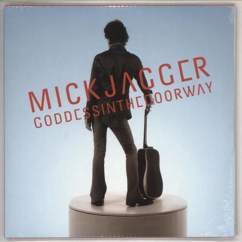 Mick Jagger Goddess In The Doorway - Half-Speed Mastered - Sealed 2-LP vinyl record set (Double Album) UK MKJ2LGO735055