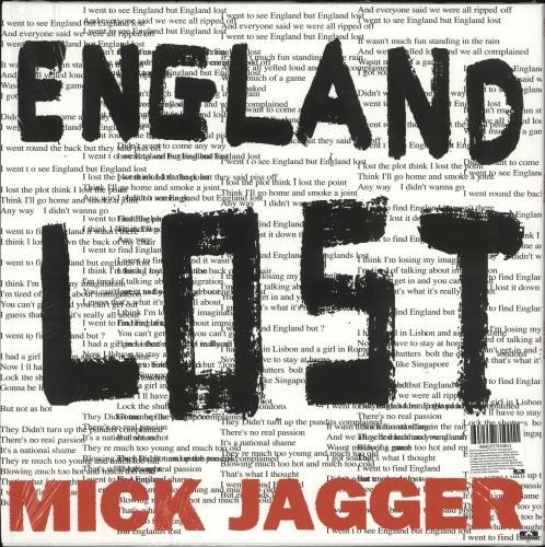 "Mick Jagger Gotta Get A Grip 12"" vinyl single (12 inch record / Maxi-single) UK MKJ12GO727543"