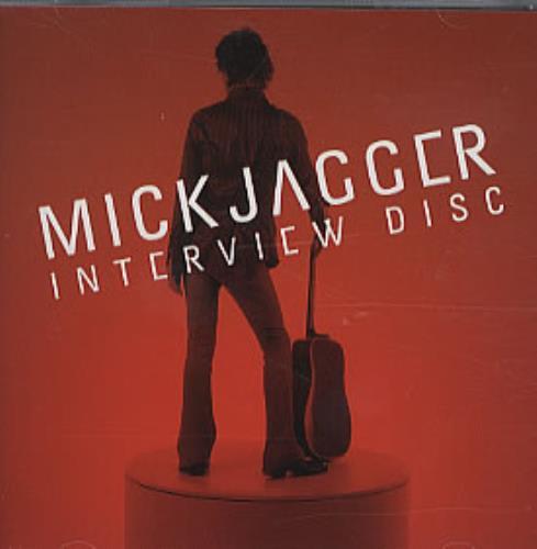 Mick Jagger Interview Disc CD album (CDLP) US MKJCDIN203783