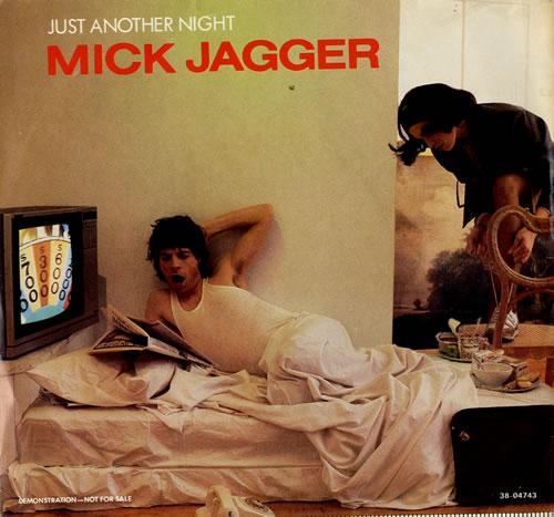 "Mick Jagger Just Another Night 7"" vinyl single (7 inch record) US MKJ07JU20878"