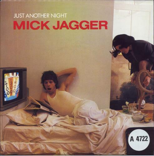 "Mick Jagger Just Another Night 7"" vinyl single (7 inch record) UK MKJ07JU517733"