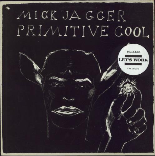Mick Jagger Primitive Cool - stickered p/s vinyl LP album (LP record) Dutch MKJLPPR617561