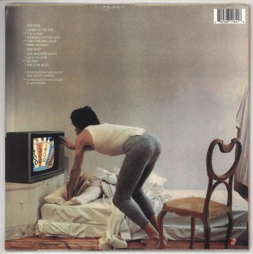Mick Jagger She's The Boss - Half-Speed Mastered - Sealed vinyl LP album (LP record) UK MKJLPSH735051