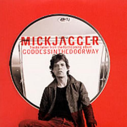 "Mick Jagger Tracks Taken From Goddess In The Doorway CD single (CD5 / 5"") UK MKJC5TR203312"