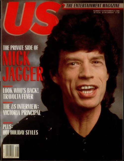 Mick Jagger Us Magazine magazine US MKJMAUS543657
