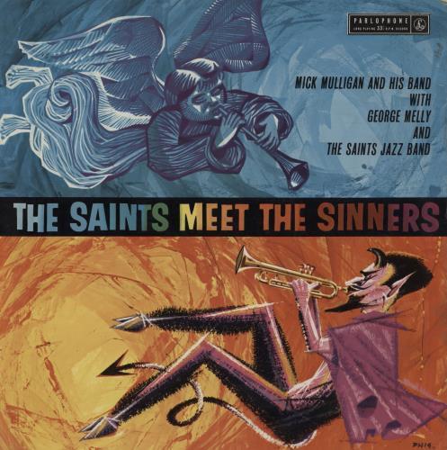 Mick Mulligan The Saints Meet The Sinners vinyl LP album (LP record) UK MM6LPTH758963