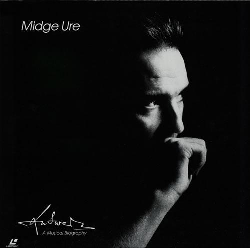 Midge Ure Answers - A Musical Biography laserdisc / lazerdisc Japanese URELZAN580557