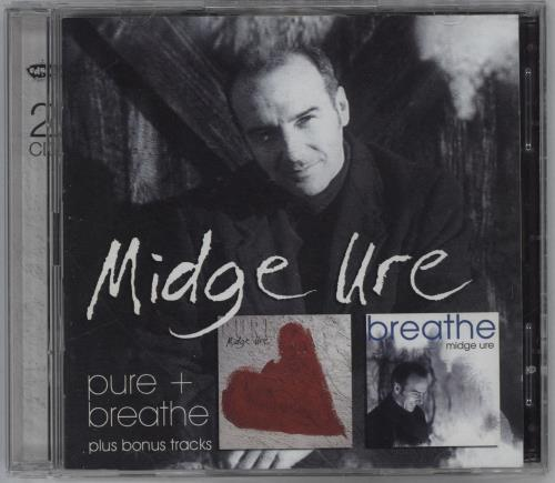 Midge Ure Pure + Breathe...Plus 2 CD album set (Double CD) German URE2CPU764428