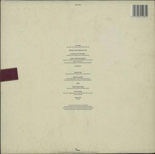 Midge Ure The Gift + Press Release UK vinyl LP album (LP record ...