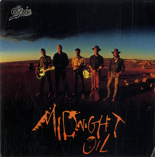 Midnight Oil Beds Are Burning Snapped Japanese 3 Cd Single Cd3