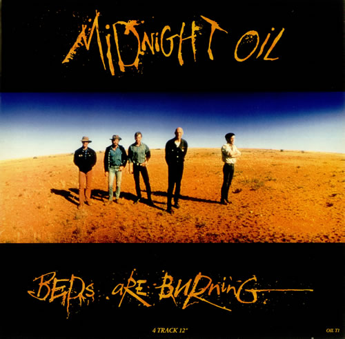 Midnight Oil Beds Are Burning Uk 12 Quot Vinyl Single 12 Inch