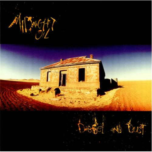 Midnight Oil Diesel Amp Dust Poster Australian Vinyl Lp