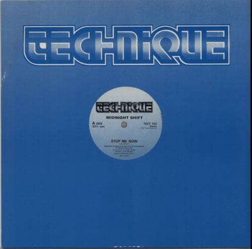 "Midnight Shift Stop Me Now 12"" vinyl single (12 inch record / Maxi-single) UK N0F12ST606207"