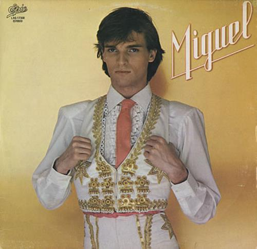Miguel Bose Miguel vinyl LP album (LP record) Mexican MBSLPMI381781