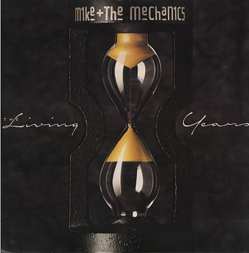 """Mike & The Mechanics The Living Years - Autographed! 12"""" vinyl single (12 inch record / Maxi-single) UK MIK12TH393792"""