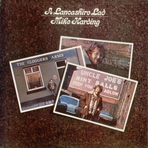 Mike Harding A Lancashire Lad vinyl LP album (LP record) UK M.HLPAL543544