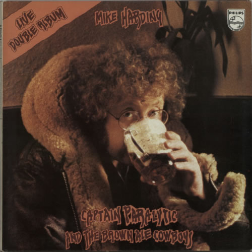Mike Harding Captain Paralytic & The Brown Ale Cowboy 2-LP vinyl record set (Double Album) UK M.H2LCA609560