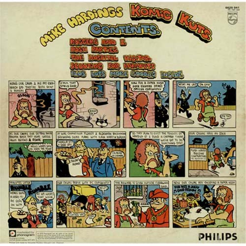 Mike Harding Komic Kutz 2-LP vinyl record set (Double Album) UK M.H2LKO406414