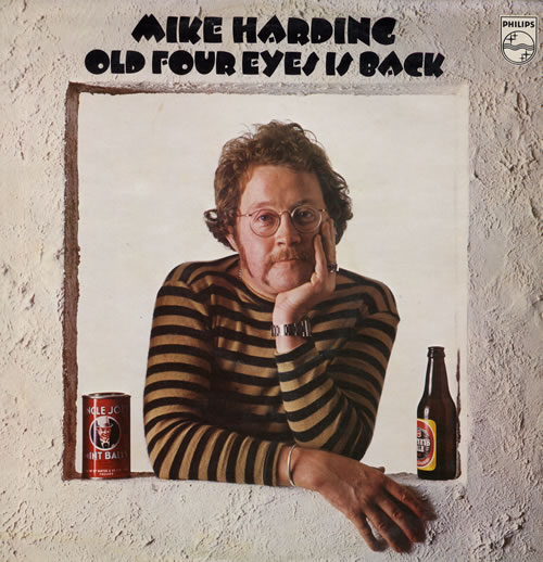 Mike Harding Old Four Eyes Is Back vinyl LP album (LP record) UK M.HLPOL562979