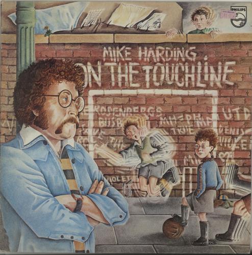 Mike Harding On The Touchline vinyl LP album (LP record) UK M.HLPON352317