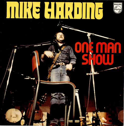 Mike Harding One Man Show 2-LP vinyl record set (Double Album) UK M.H2LON460962