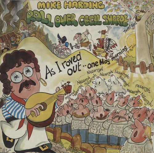 Mike Harding Roll Over Cecil Sharpe vinyl LP album (LP record) UK M.HLPRO656241