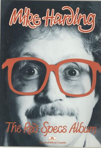 Mike Harding The Red Specs Tour tour programme UK M.HTRTH688703