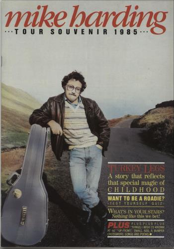 Mike Harding Tour Souvenir 1985 tour programme UK M.HTRTO669862