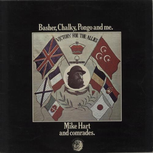 Mike Hart Basher, Chalky, Pongo And Me vinyl LP album (LP record) UK MI0LPBA594811