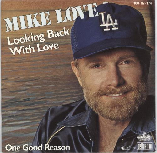 """Mike Love Looking Back With Love 7"""" vinyl single (7 inch record) German MKV07LO710505"""