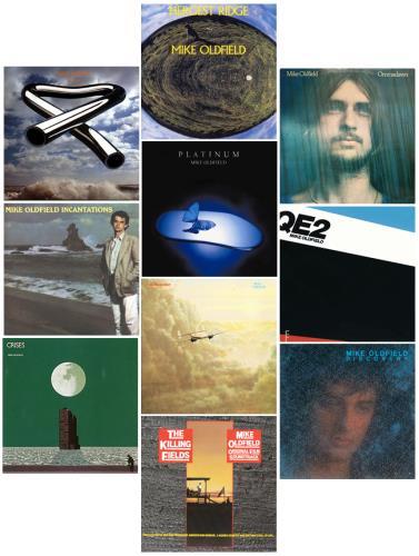 Mike Oldfield 1973-1991 Studio Albums vinyl LP album (LP record) Italian OLDLPST617222