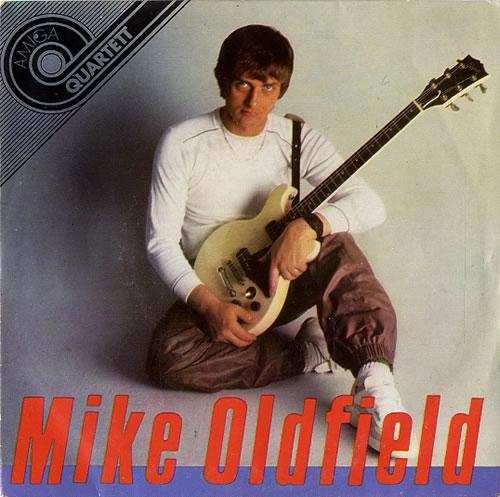 "Mike Oldfield Amiga Quartett 7"" vinyl single (7 inch record) German OLD07AM49271"