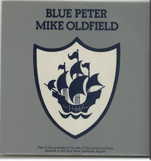 """Mike Oldfield Blue Peter - 1st 7"""" vinyl single (7 inch record) UK OLD07BL636057"""