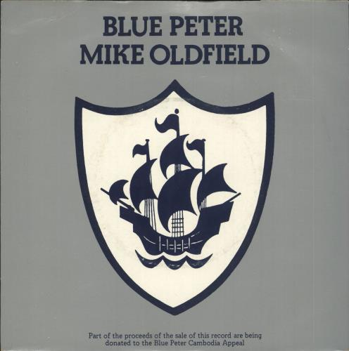 """Mike Oldfield Blue Peter - 2nd 7"""" vinyl single (7 inch record) UK OLD07BL728497"""