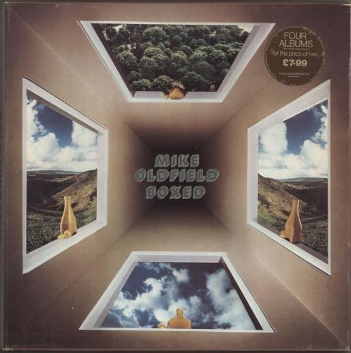 Mike Oldfield Boxed - Quad - Stickered Vinyl Box Set UK OLDVXBO694468