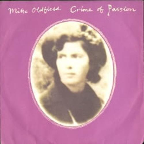 """Mike Oldfield Crime Of Passion 7"""" vinyl single (7 inch record) Yugoslavian OLD07CR170733"""