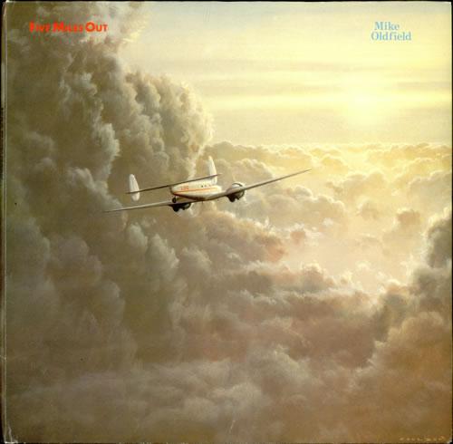 Mike Oldfield Five Miles Out vinyl LP album (LP record) German OLDLPFI527450