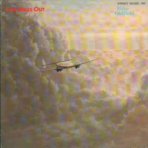 """Mike Oldfield Five Miles Out 7"""" vinyl single (7 inch record) German OLD07FI652786"""