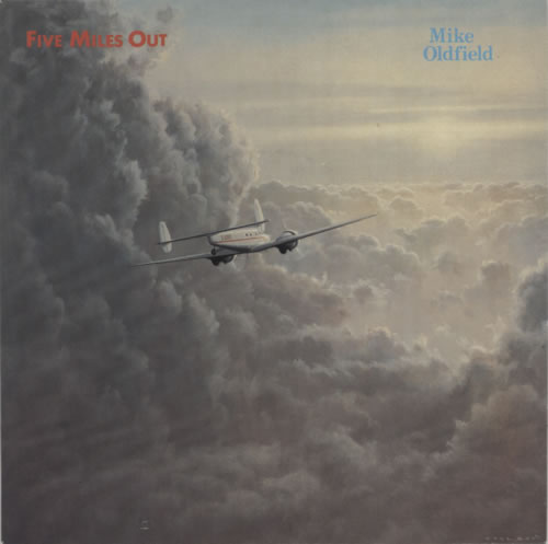 "Mike Oldfield Five Miles Out 7"" vinyl single (7 inch record) UK OLD07FI09847"