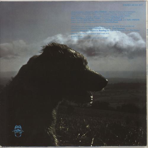 Mike Oldfield Hergest Ridge - Red/Green labels vinyl LP album (LP record) German OLDLPHE727763