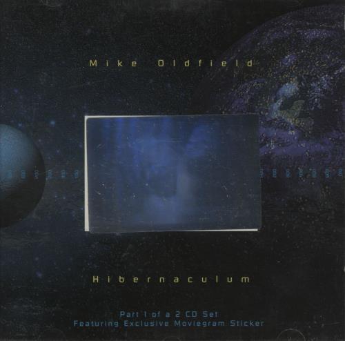 Mike Oldfield Hibernaculum - Both Parts 2-CD single set (Double CD single) UK OLD2SHI81514