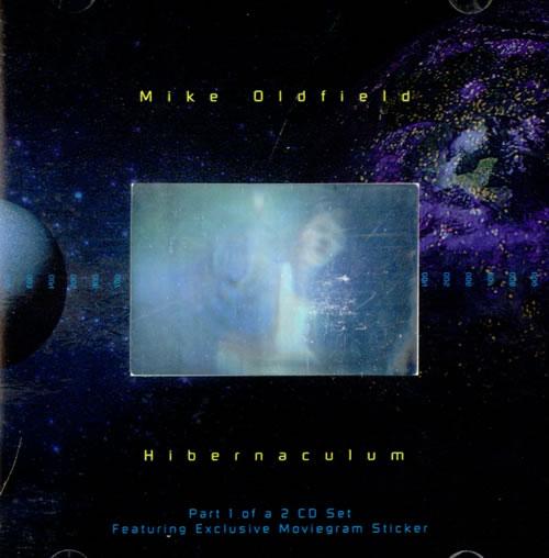 "Mike Oldfield Hibernaculum - Hologram CD single (CD5 / 5"") UK OLDC5HI37925"