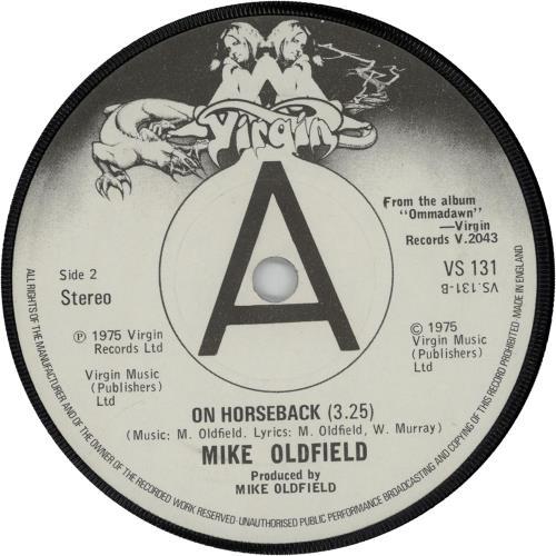 "Mike Oldfield In Dulci Jubilo - Solid 7"" vinyl single (7 inch record) UK OLD07IN14208"