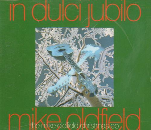 """Mike Oldfield In Dulci Jubilo CD single (CD5 / 5"""") UK OLDC5IN25512"""