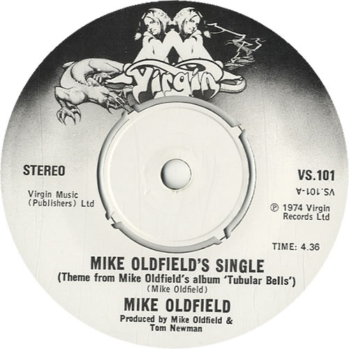"Mike Oldfield Mike Oldfield's Single - P/S 7"" vinyl single (7 inch record) UK OLD07MI23733"