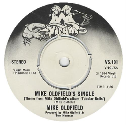 "Mike Oldfield Mike Oldfield's Single 7"" vinyl single (7 inch record) UK OLD07MI319739"